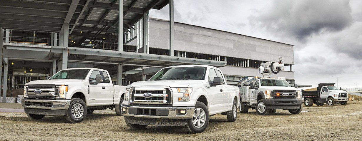 Ford Super-Duty commercial pickups